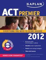 ACT Premier 2012
