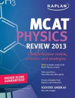 MCAT Physics Review