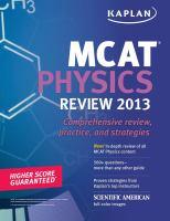 MCAT Physics Review