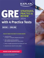 GRE, Graduate Record Examination 2014
