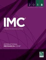 2018 International Mechanical Code