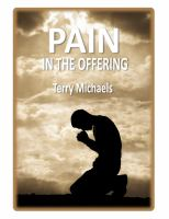 Pain in the Offering