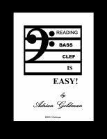 Reading Bass Clef Is Easy