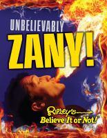 Unbelievably Zany