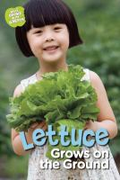 Lettuce Grows on the Ground