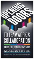 Opening Doors to Teamwork and Collaboration
