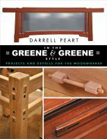 In the Greene & Greene Style