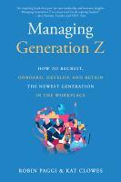 Managing Generation Z