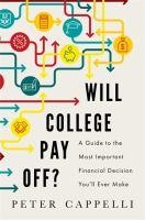 Will College Pay Off?