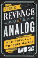 The Revenge of Analog