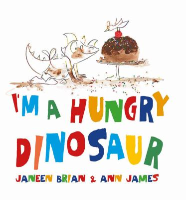 Cover image for I'm A Hungry Dinosaur