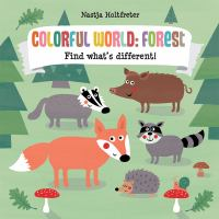 Colorful world : forest : find what's different!