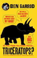 So You Think You Know About...Triceratops?
