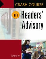 Crash Course in Readers' Advisory