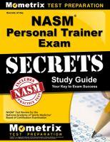 NASM Personal Trainer Exam Secrets