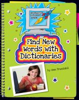 Find New Words With Dictionaries