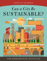 Can A City Be Sustainable?