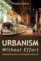 Urbanism Without Effort