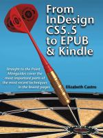 From InDesign CS5.5 to EPUB and Kindle