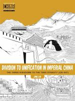 Division to Unification in Imperial China