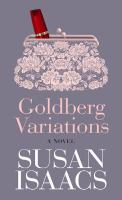Goldberg variations : [a novel]