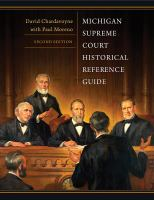Michigan Supreme Court Historical Reference Guide