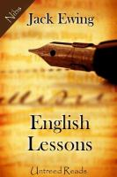 English Lessons (Untreed Reads)