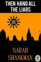 Then Hang All the Liars (a Samantha Adams Mystery, #2)