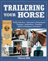 Trailering Your Horse