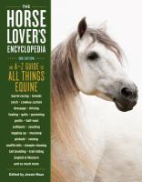 The Horse-lover's Encyclopedia