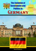 The Evolution of Government and Politics in Germany