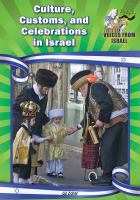 Culture, Customs, and Celebrations in Israel