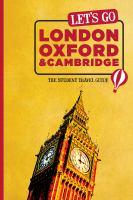 Let's Go London, Oxford &Cambridge