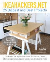 IkeaHackers.net : 25 biggest and best projects : DIY hacks for multi-functional furniture, clever storage upgrades, space-saving solutions and more