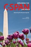 Exploring the C-SPAN Archives