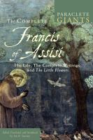 The Complete Francis of Assisi
