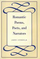 Romantic Poems, Poets, and Narrators
