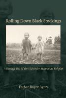 Rolling Down Black Stockings