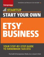 Start your Own Etsy Business: Crafts, Jewelry, Furniture, and More