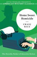 Home Sweet Homicide