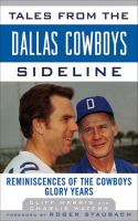 Tales From the Dallas Cowboys Sideline