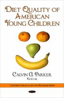 Diet Quality of American Young Children
