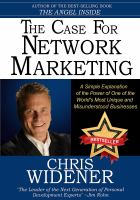The Case for Network Marketing