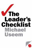 Leader's Checklist