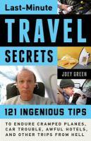 Last-minute Travel Secrets