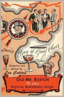 Old Mr. Boston Deluxe Official Bartender's Guide