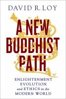A New Buddhist Path