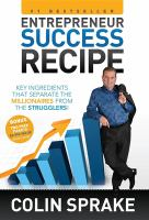Entrepreneur Success Recipe