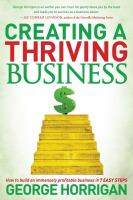 Creating A Thriving Business