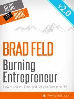 Burning Entrepreneur